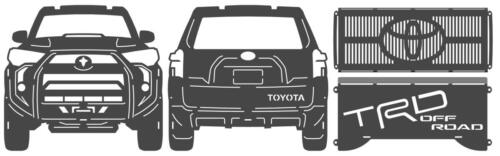 toyota 4runner fire pit parts