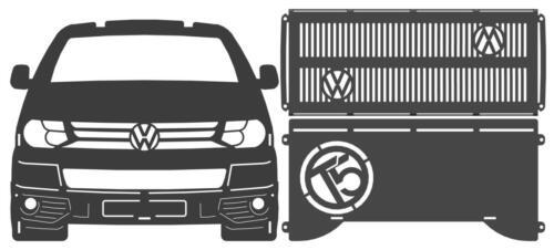 vw t5 van fire pit parts
