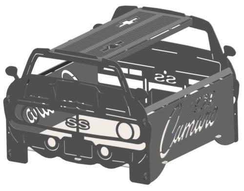 1968 camaro fire pit