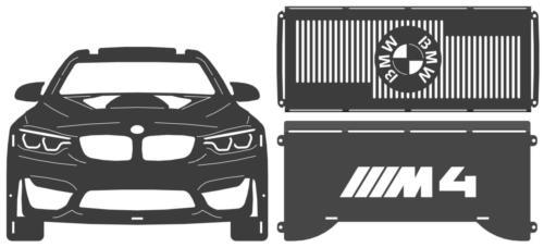 BMW M4 fire pit parts