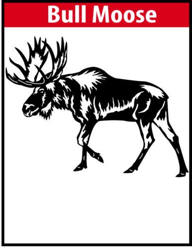 Bull Moose JPG Image File