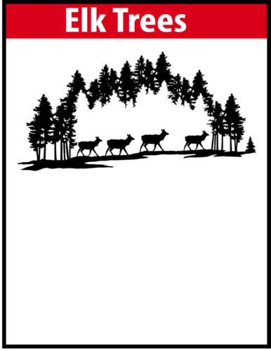 Elk Trees JPG Image File