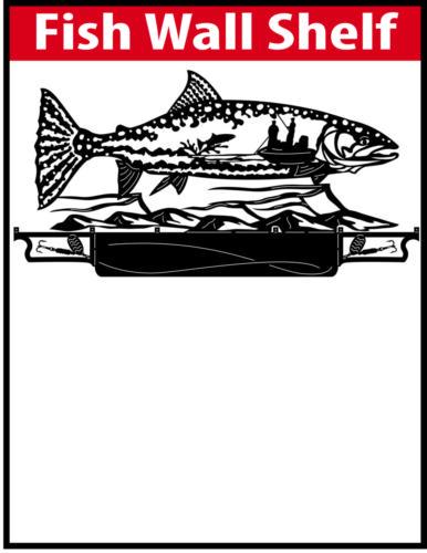 Fish Wall Shelf