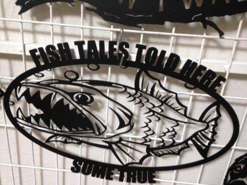 Fish tales told here8s