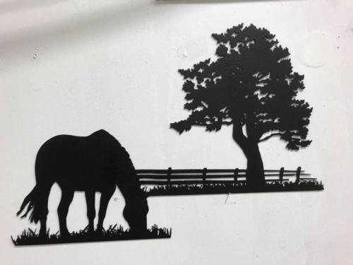 Horse fence and tree15s