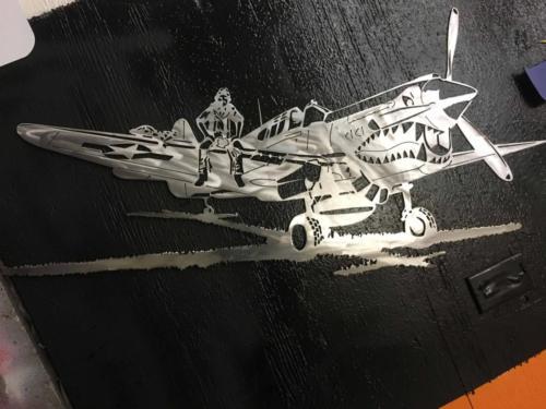 P 40 Warhawk #41