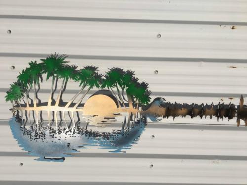 Palm Tree Guitar 2 #35