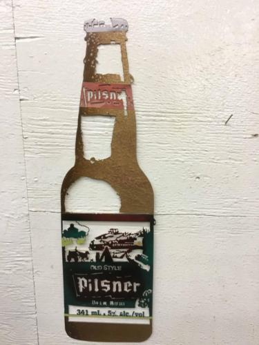 Pill beer bottle #27
