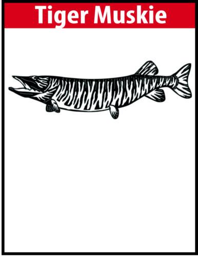 Tiger Muskie JPG Image File