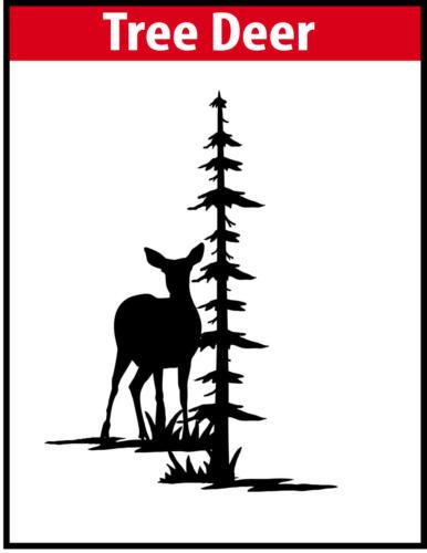 Tree Deer JPG Image File