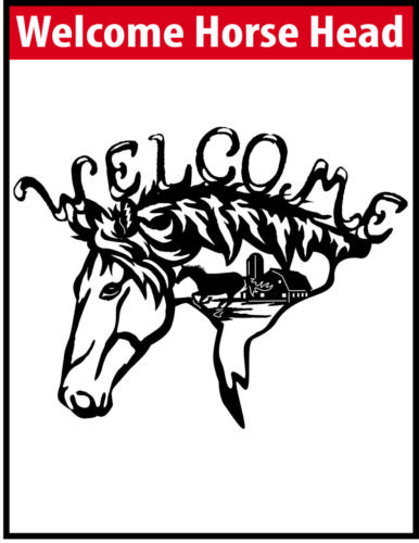 Welcome Horse Head