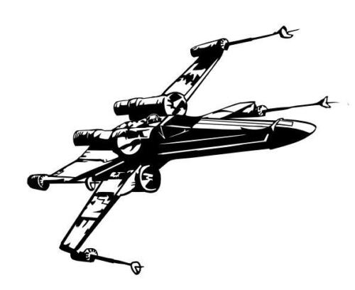 X wing fighter (1)