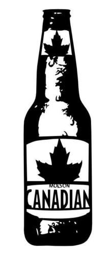 canadian molson bottle
