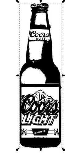 coors bottle