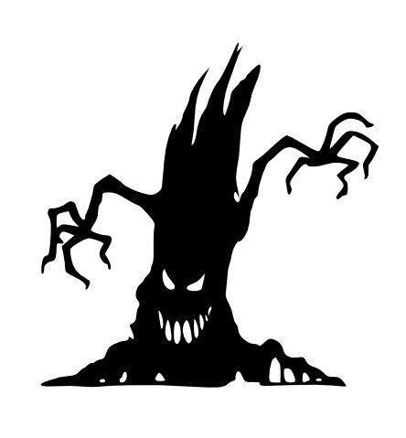 creepy tree scrap eater image