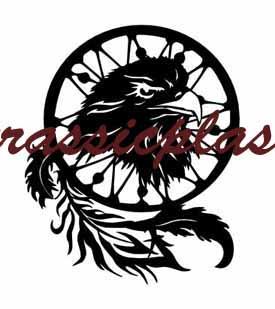 dream catcher eagle black22cAG - Copy