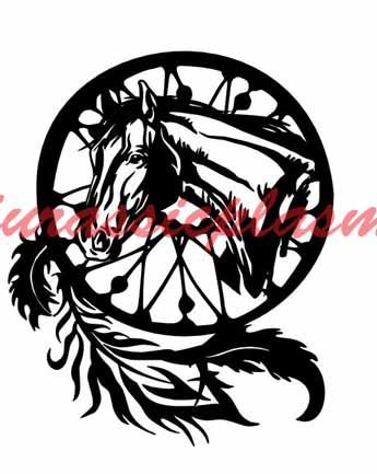 dream catcher horse aZ - Copy