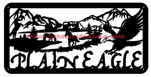 eagle plain yard signAG