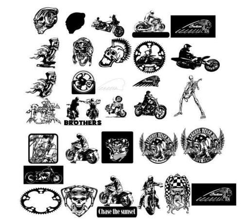 Bikers and Skulls Bundle, 30 files total$95 USD, Bundle