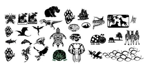 Animals and Wildlife Bundle, 56 files total$150 USD. Bundle