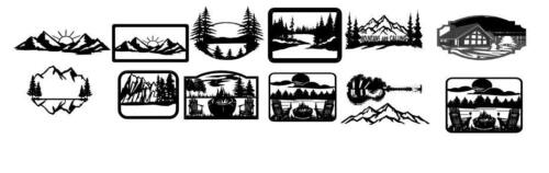 etsy mountian and lake bundle image (1)