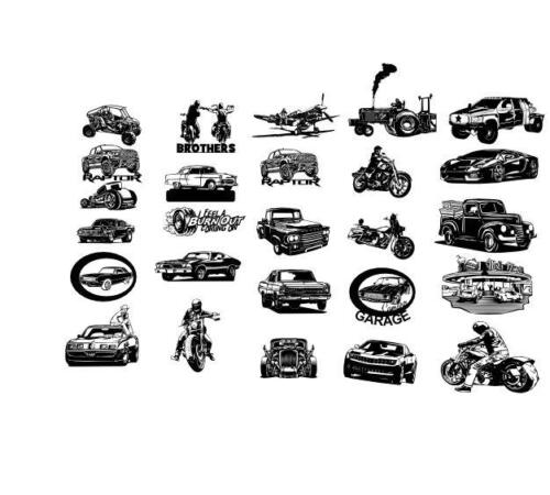 Vehicles Bundle, 49 files total$85 USD Bundle