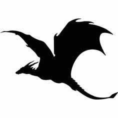 flying dragon sillowette5s