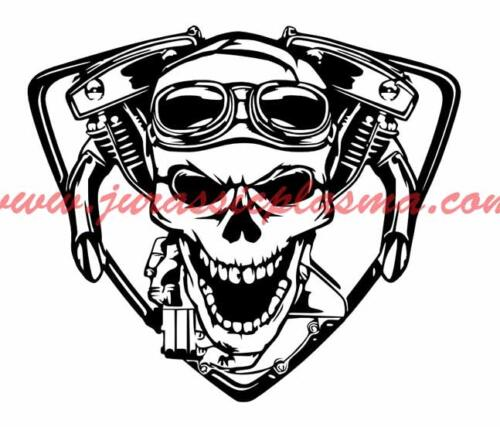 harley motoskull24AV