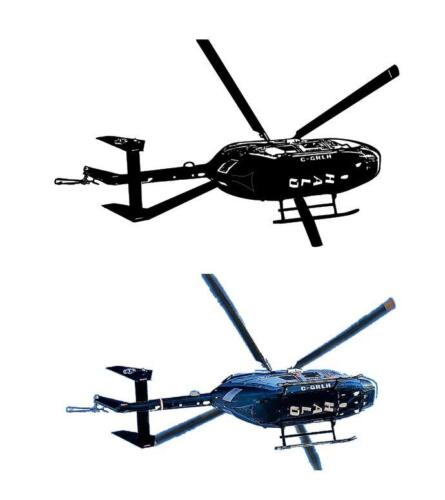 helicopter trace