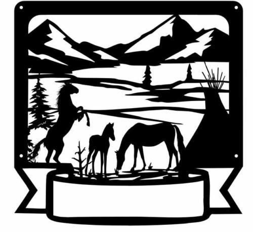 horse tee pee mountainsc