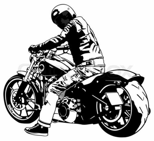 lookback biker #38