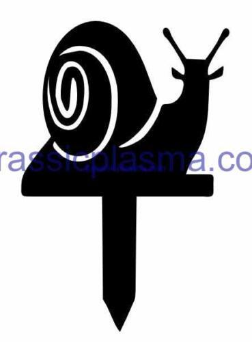 snail garden stake imageWM