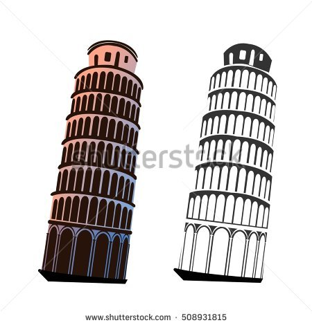 stock-vector-leaning-tower-of-pisa-vector-508931815
