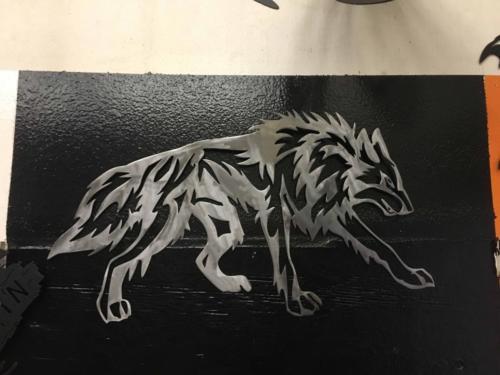 wolf tribal #6